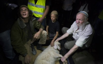 Jews Arrested Trying to Perform Passover Sacrifice on Temple Mount
