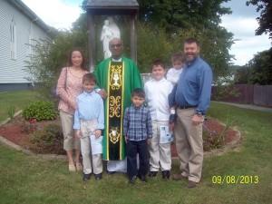 Barth Bracy - Barth and Family