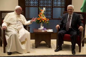 Pope Francis acknowledges 'State of Palestine', prays in Bethlehem and meets with Palestinian President Mahmoud Abbas