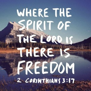 Freedom in the Lord