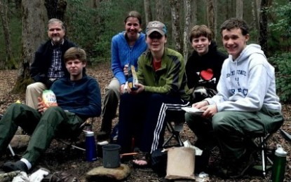 Boy Scout Troop 412 Breaks Camp