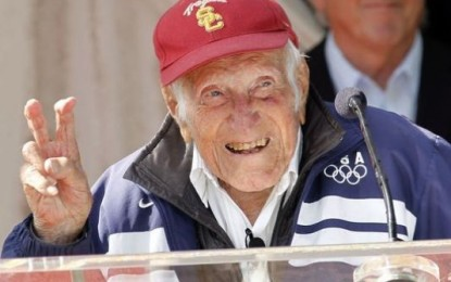 Olympian, World War II Veteran Dies at 97