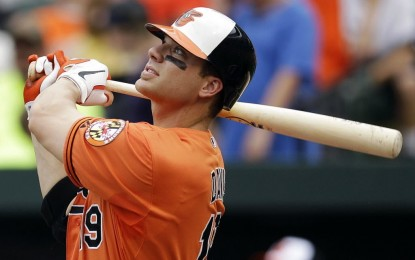 Orioles' slugger Davis finds blessing in surrender