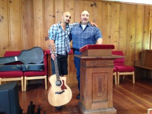 Feed the sheep-Pastor Bob and Worship leader Danny Vieira