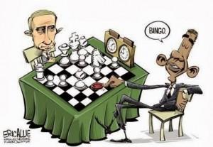 Putin/Obama Cartoon
