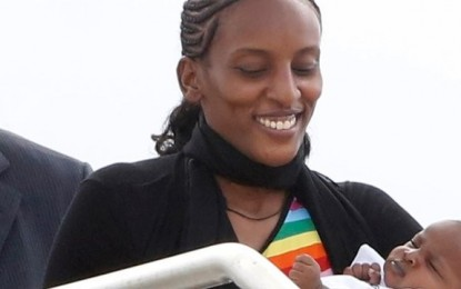 Meriam Ibrahim Arrives in the U.S.