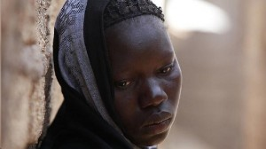 Last known photograph of a 10-year-old suicide bomber in Nigeria