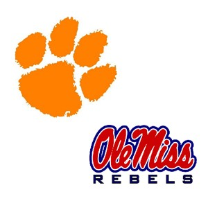 Clemson and Ole Miss