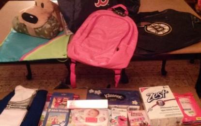 Homeless Backpacks for RI