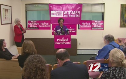 Raimondo Opposes Partial Birth Abortion Except for the Fact that She Doesn't