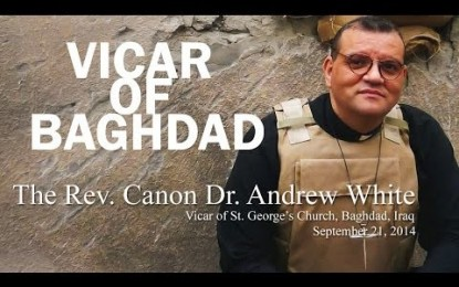 Baghdad Pastor Visits Tacoma, Faults US policy and Pleads with Church to Help Iraq's Christians