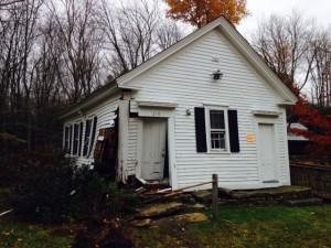 The Mount Vernon Baptist Church in Foster has been condemned after a pickup truck crashed into the building on Halloween night.