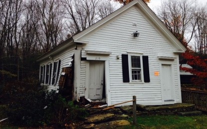 Historic Foster Church Condemned After Pickup Truck Hits Building