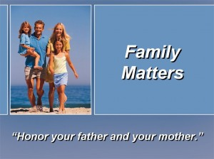 Honor Father and Mother