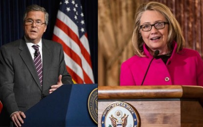 Bush v. Clinton In 2016? New World Order Dream Matchup Being Touted As 'Inevitable'