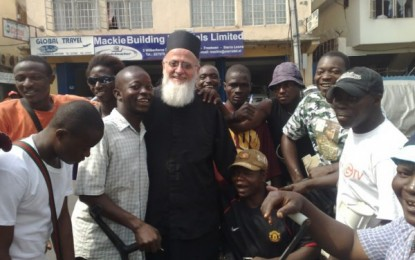 Celebrating Christmas and New Year in a War Zone – Father Themi's Christmas Message to the World