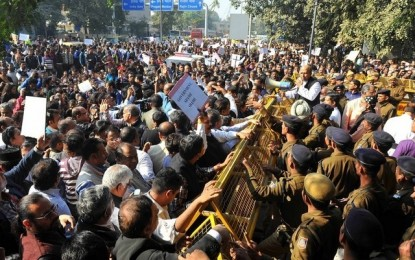 India's Christians Protest After St. Sebastian's Church Burns