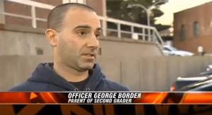 Police Officer Dad Understandably Upset