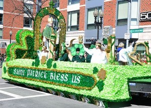 Schools St Patrick Day Parade Float
