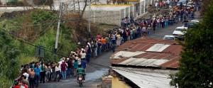 Hungry venezuela-shortage