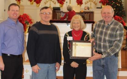 Rev. Dennis And Elaine O'Neill Honored