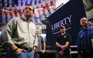 Cruz launches prez campaign at Christian college