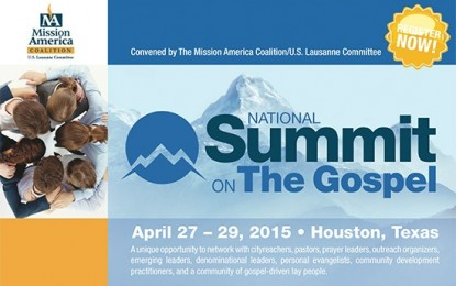National Summit on the Gospel to Address Movements, Justice, Collaboration, and the Centrality of the Gospel