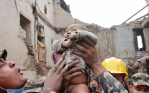 Miracles in Nepal Earthquake -1