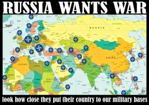 NATO Increasingly Surrounds the _Russian