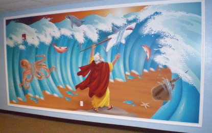Patchwork Bible Mural MINISTRY TIP