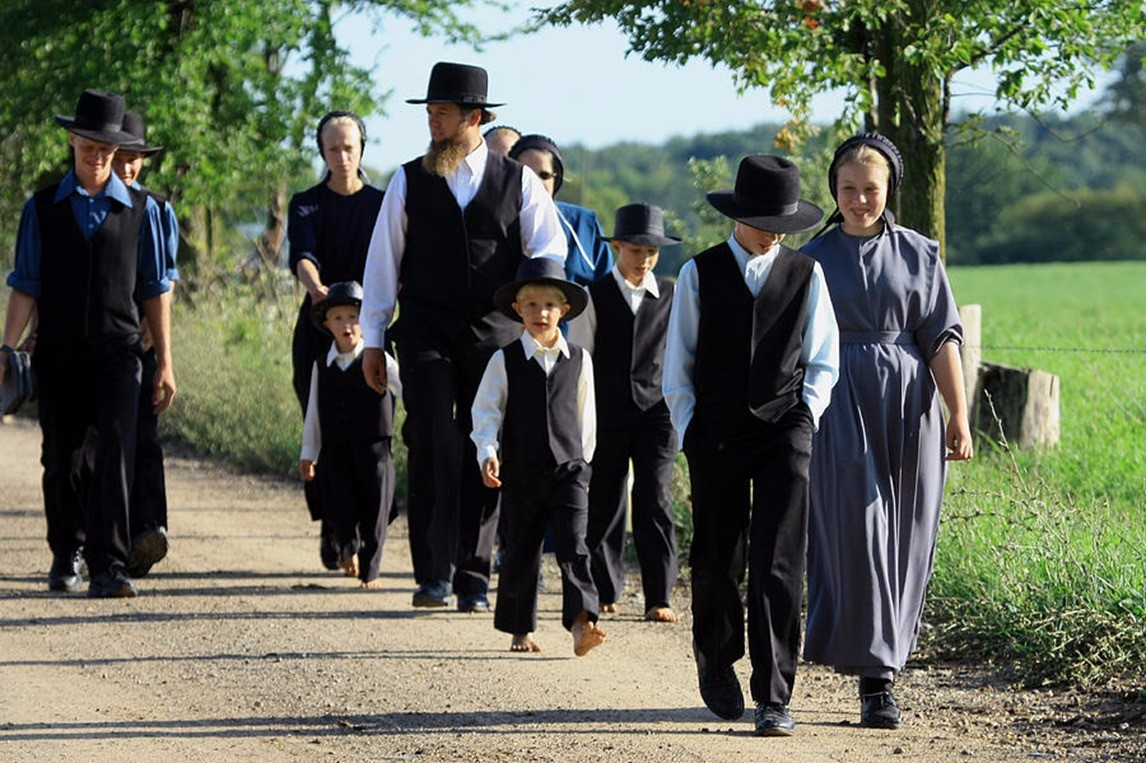 amish conclusion The amish have a long tradition of shunning modern technology, hence their reliance on horse-and-buggy transportation however, every community makes its own rules, and many invent clever loopholes to enjoy conveniences.