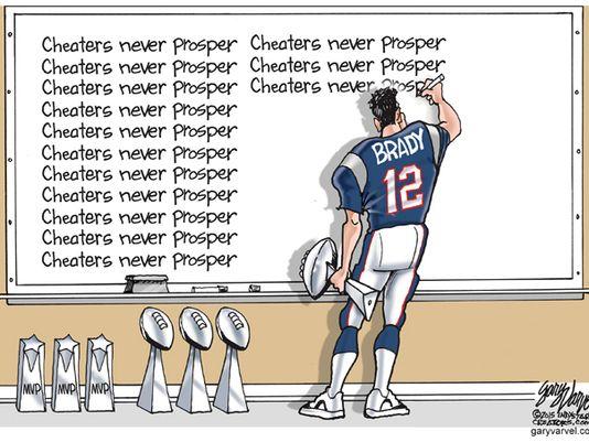 Tom Brady - Cheaters never prosper
