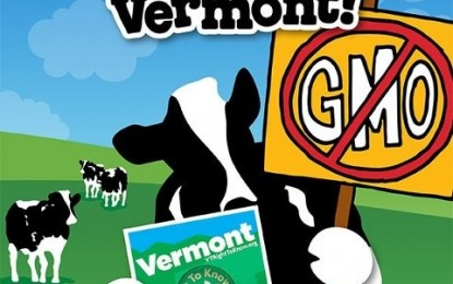 Vermont Becomes First to Have Mandatory GMO Labeling