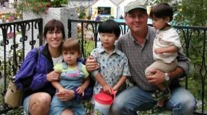 Rep. David Sawicki and family
