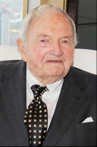 Is there a conspiracy - David Rockefeller Sr