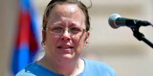 Kentucky Clerk - Rowan County Clerk Kim Davis