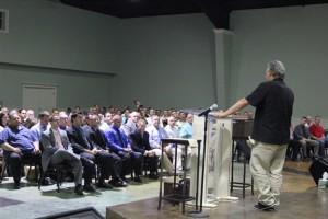 President Pasco Manzo addresses Teen Challenge graduates
