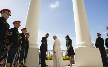Obama's inclusion of transgender activist, gay bishop, and abortion-supporting nun on Pope Francis 'guest list' raises questions