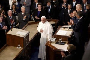 In New York - Pope speaks to Congress