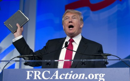 The myth of Donald Trump's evangelical support