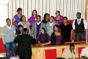 Church keeps singing