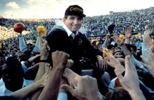 Bill McCartney.JPG  CU VS NEBRASKA COACH BILL MCCARTNEY after the 1989 Nebraska game. photo by Cliff Grassmick