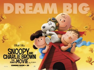 Peanuts Movie - Dream Big
