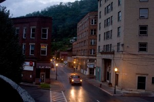 Some of the many abandoned buildings in McDowell County