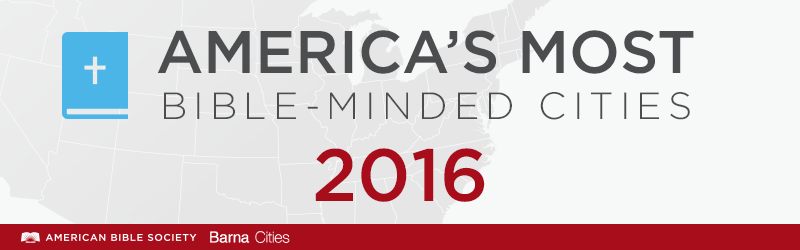 America's most, least Bible-minded 2016 Banner
