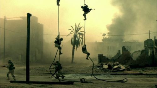 Black Hawk Down - fast-rope