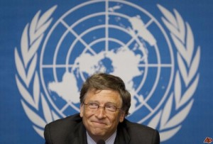 Depopulation globalist Bill Gates