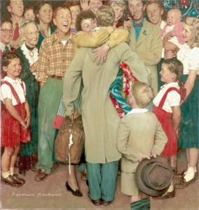 So you think - norman-rockwell-a-christmas-homecoming