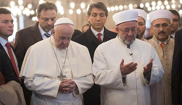 The Roman Church - pope-muslims