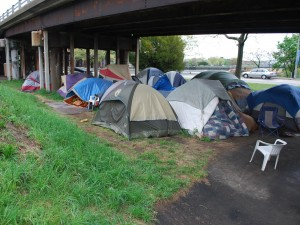 What the Homeless - Tent City in Providence